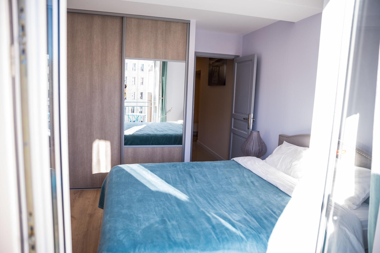 AzurAppart Brilliant 2 room, Nice centre, Massena